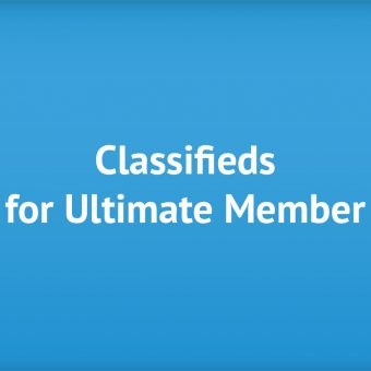Classifieds for Ultimate Member
