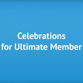 Celebrations for Ultimate Member