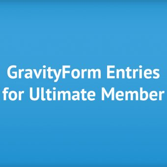Gravity Forms Entries for Ultimate Member