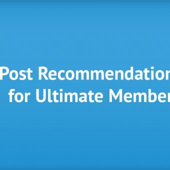 Post Recommendations for UltimateMember