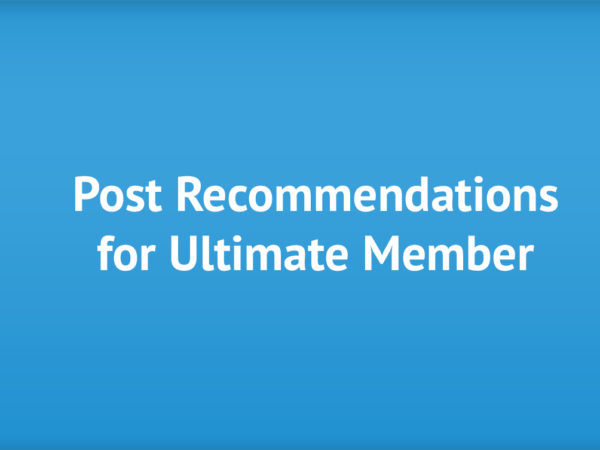 post-recommendations-ultimate-member